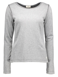 OSI femmes T-shirt MEGAN STRIPE dark grey