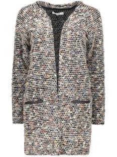 Only Vest onlHANNOVER L/S OPEN CARDIGAN KNT 15120336 Henna/Potting