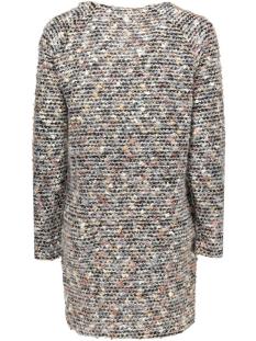 onlhannover l/s open cardigan knt 15120336 only vest henna/potting