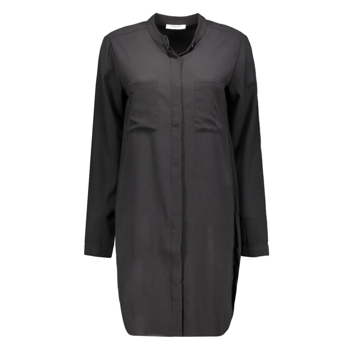 pcalex leo long shirt 17080414 pieces blouse black