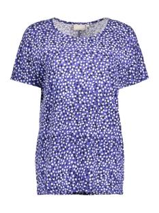 Yoki Tshirt 30101964 11101 Painted Dots Blue