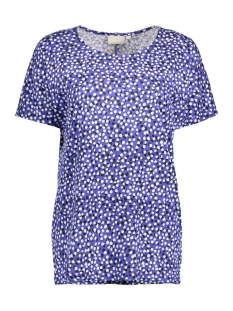 InWear T-shirt Yoki Tshirt 30101964 11101 Painted Dots Blue