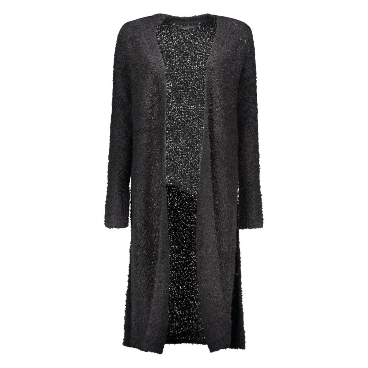 onlnew zadie l/s long cardigan knt 15121236 only vest black