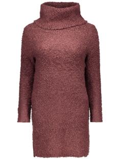 Only Jurk onlNEW ZADIE L/S ROLLNECK DRESS KNT 15121795 Fugde/w. BLACK M