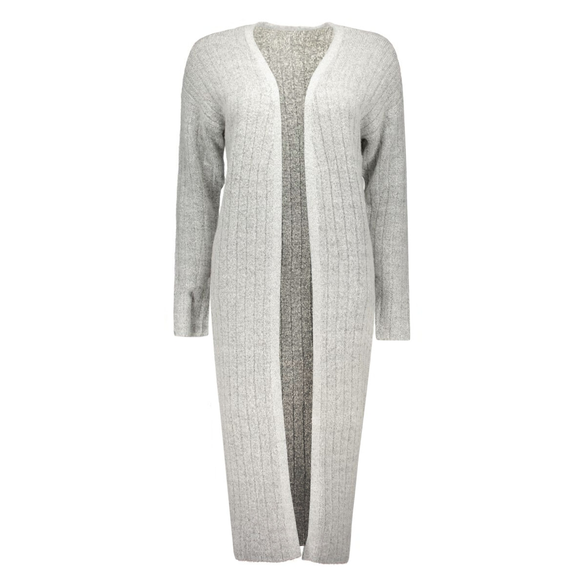 jdyraven l/s cardigan knt 15117353 jacqueline de yong vest light grey melange
