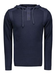 Jack & Jones Sweater JCOTRAVIS KNIT HOOD 12113029 Navy Blazer/KNIT FIT