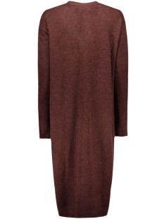 vmginger ls extra long cardigan rep 10159153 vero moda vest decadent chocolate