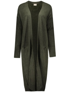 Vero Moda Vest VMGINGER LS EXTRA LONG CARDIGAN REP 10159153 Peat
