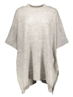 JDYGABY S/S PONCHO KNT 15119207 light grey melange