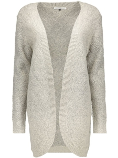 onlBRETAGNE L/S OPEN CARDIGAN KNT NOOS 15120119 Light Grey Melange