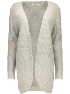 Only Vest onlBRETAGNE L/S OPEN CARDIGAN KNT NOOS 15120119 Light Grey Melange
