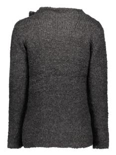 jdygaby l/s button cardigan knt 15119203 jacqueline de yong vest dark grey melange