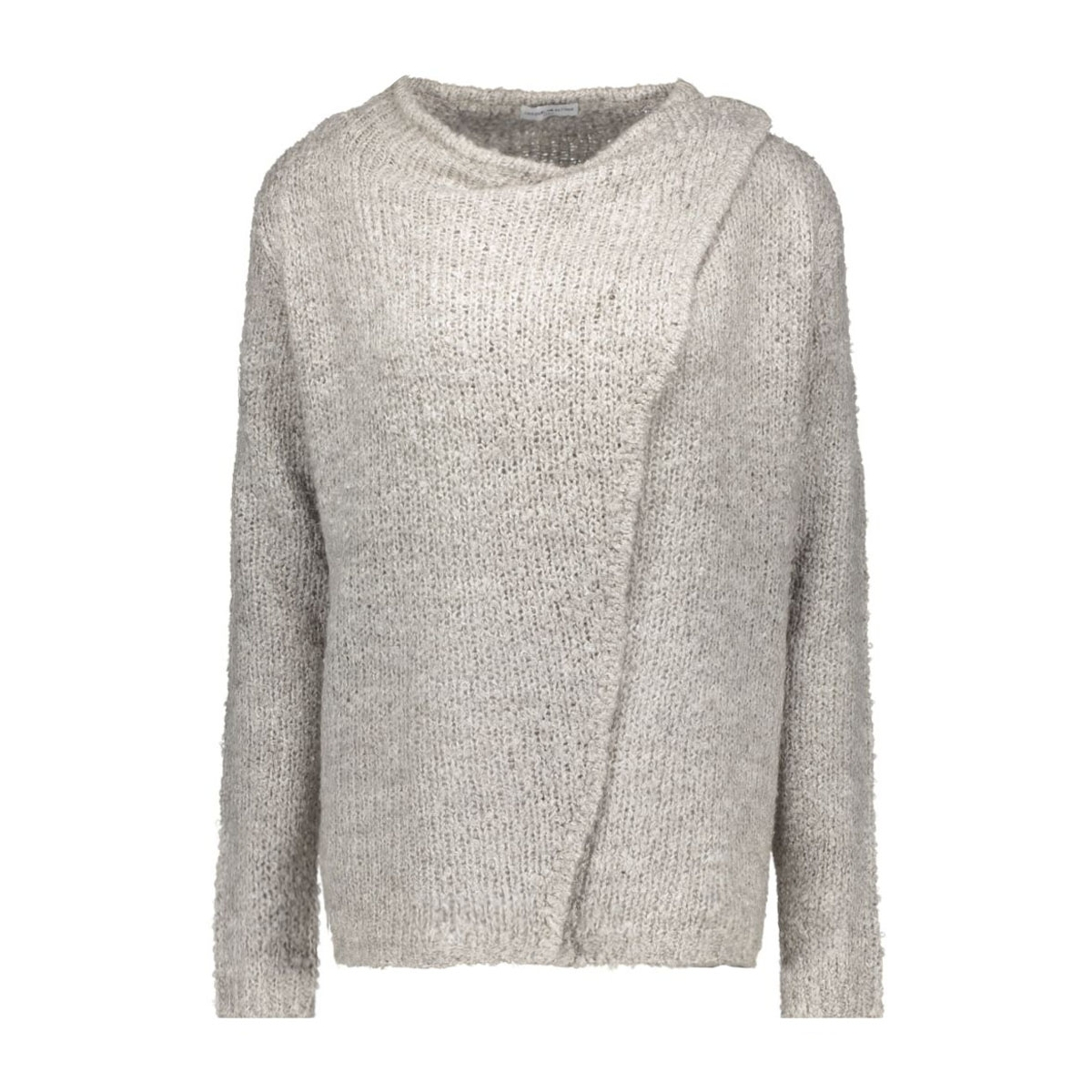 jdygaby l/s button cardigan knt 15119203 jacqueline de yong vest light grey melange