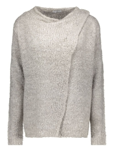 Jacqueline de Yong Vest JDYGABY L/S BUTTON CARDIGAN KNT 15119203 light grey melange