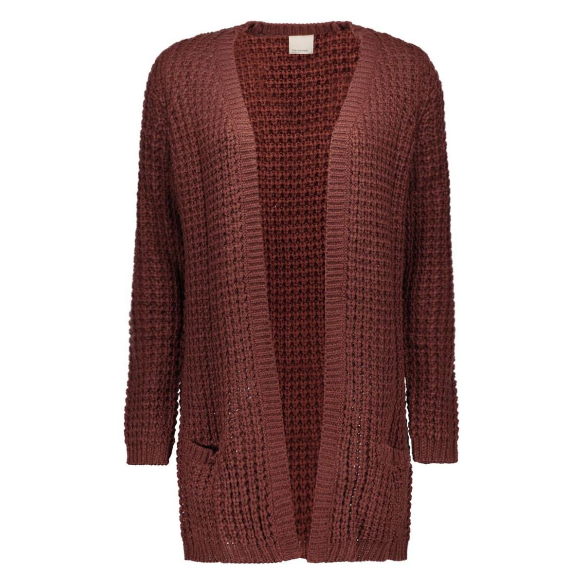 vmcozy copenhagen nice ls cardigan 10166857 vero moda vest decadent chocolate