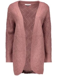onlbretagne l/s open cardigan knt noos 15120119 only vest mesa rose/w melange