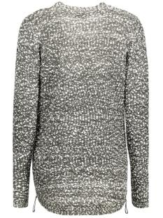 vilika l/s knit cardigan 14035632 vila vest ebony