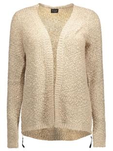 vilika l/s knit cardigan 14035632 vila vest sandshell
