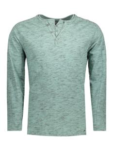 Garcia T-shirt C71020_men`s serafino ls 2402 Groovy Green