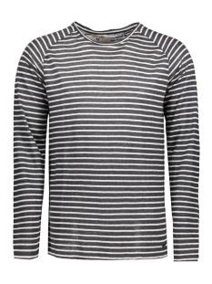 C71018_men`s T-shirt ls 2436 Charcoal