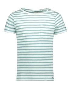 Garcia T-shirt C71009_men`s T-shirt ss 2312 Sea Green