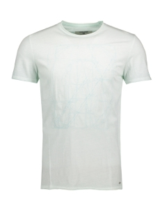 Garcia T-shirt C71042_men`s T-shirt ss 2407 Soft Mint
