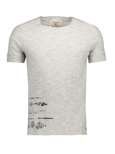 Garcia T-shirt C71008_men`s T-shirt ss 66 Grey Melee