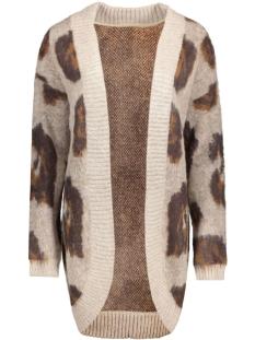 objevelyn sharon l/s knit cardigan 23022822 object vest cobblestone