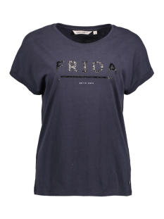Garcia T-shirt D70204 20 Dark Navy