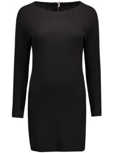 onlnew tessa straight zip l/s dress 15125907 only jurk black