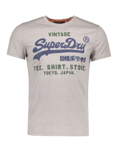 Superdry T-shirt M10016XNF1 LIGHT GREY GRIT