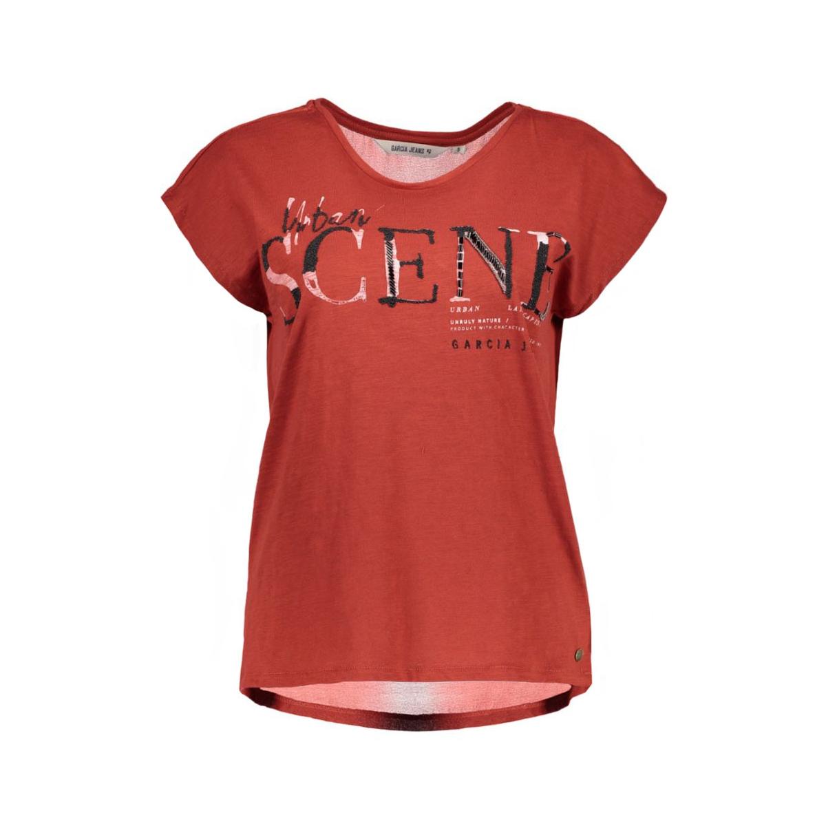 v60216 garcia t-shirt 2051 brique