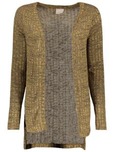 vmnille ls high low cardigan 10162506 vero moda vest kangaroo/melange w.