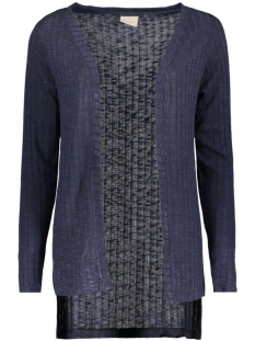 Vero Moda Vest VMNILLE LS HIGH LOW CARDIGAN 10162506 Navy Blazer/Melange W.