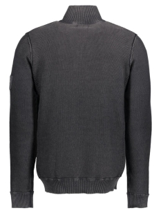 jjvbrandon knit crew high neck 12111443 jack & jones trui caviar