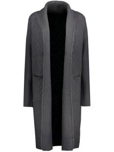 vimysta knit cardigan 14035609 vila vest ebony