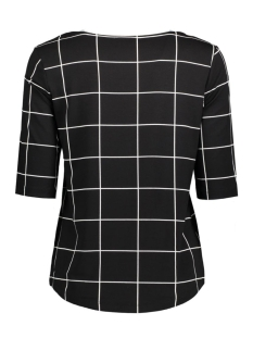 pcdamara 2/4 tee box 17079802 pieces t-shirt black/white
