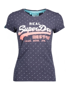 g10001fn superdry t-shirt overdyed blue