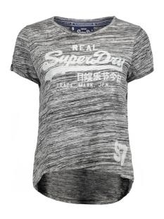g10651anf3 superdry t-shirt black twist