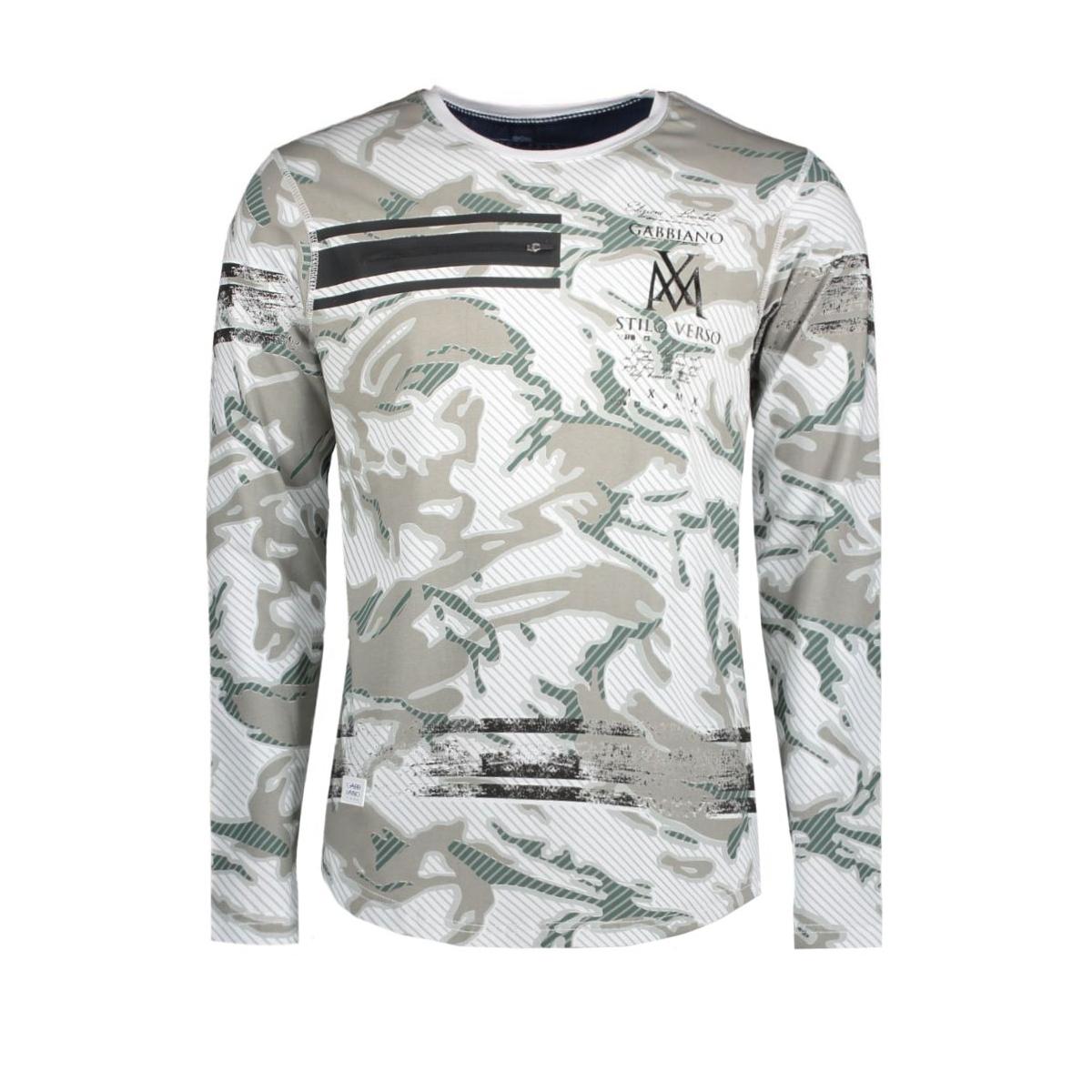 3008 gabbiano t-shirt wit