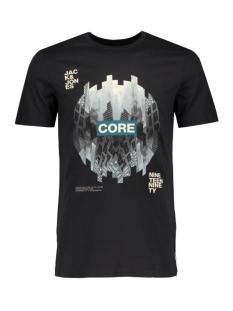 Jack & Jones T-shirt JCOEMILIO TEE SS CREW NECK DK 12119009 Black