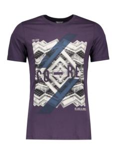 jcoemilio tee ss crew neck dk 12119009 jack & jones t-shirt nightshade