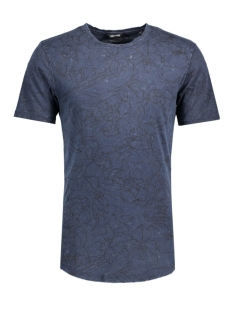 Only & Sons T-shirt onsANDRE FITTED TEE 22004603 Orion Blue