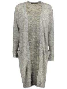Only Vest onlNEW HAYLEY L/S LONG CARDIGAN KNT 15126884 Light Grey Melange