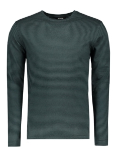 Only & Sons T-shirt onsARON LS FITTED TEE 22004604 Green Gables