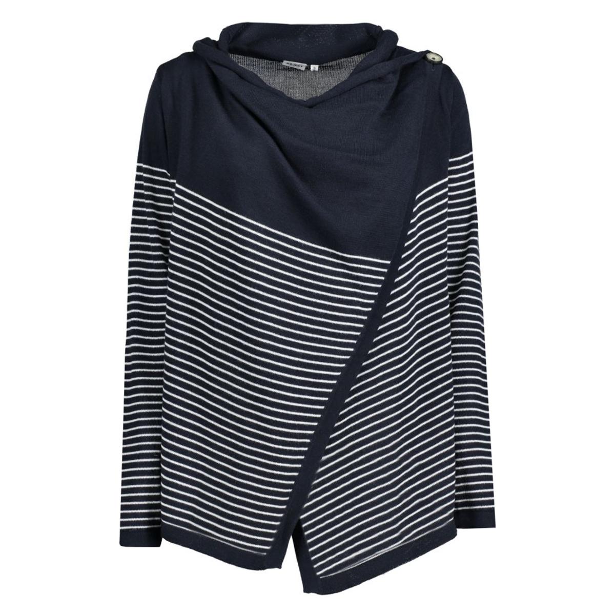 objanna deanna light knit cardigan 23023999 object vest sky captain