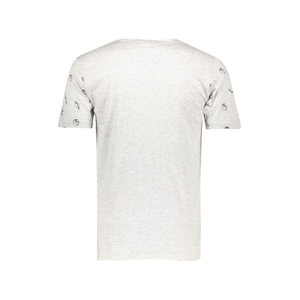 onsspace sleeves o-neck exp 22004541 only & sons t-shirt light grey melange