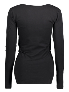 mlicon l/s jersey top 20006868 mama-licious positie shirt black