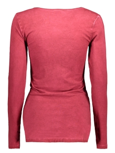 mlrock l/s jersey top 20006619 mama-licious positie shirt rio red