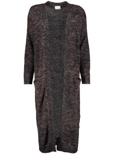 vmfrancie copenhagen ls ex long car 10157537 vero moda vest black/w. decaden